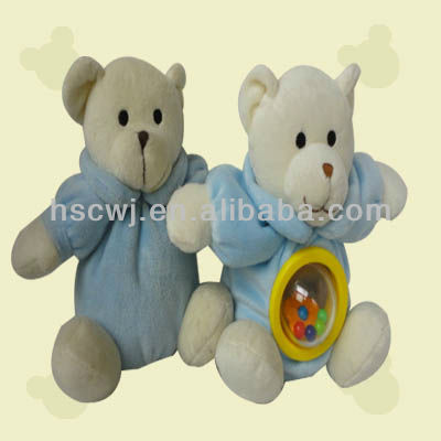 Rattle bear baby toys animal infant toy