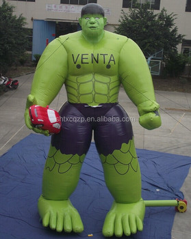 inflatable hulk factory supply