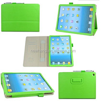 Multifunctional Sheepskin Texture Leather Case with Holder & Credit Card Slots & Elastic Hand Strap & Touch Pen for iPad Air