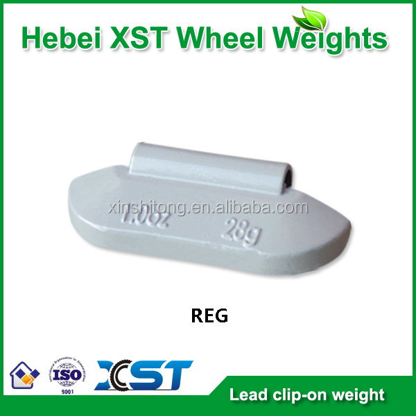pb clip on wheel weight for steel rim