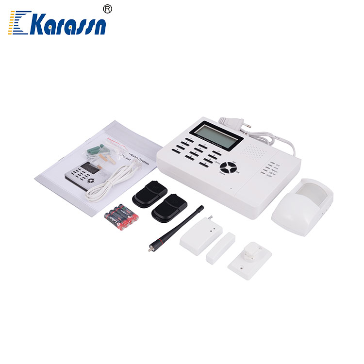 Home Automation Infrared Detector Wireless Security GSM Emergency Call Alarm System