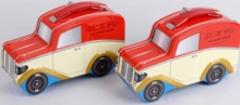 Car shape lunch tin box