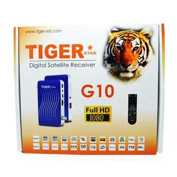 Tiger Satellite Receiver hd G10 Full HD1008p Mini Sat Box support Multi Channels
