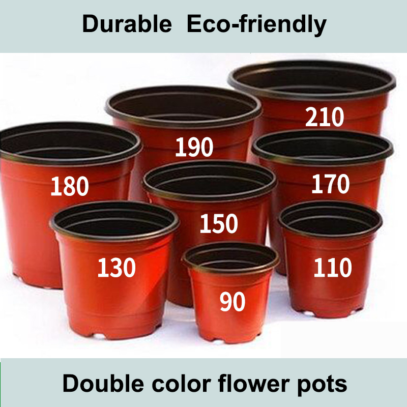 Home&Garden All Size Bulk Plant Pots Cheap Plastic Flower Pots For Home&Garden