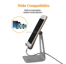 Aluminum Cell phone holder Multi-Angle Desk Lazy Mobile Phone Stand