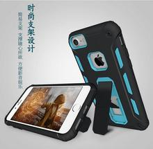 Oem Hot Selling Protective Smartphone Cover Shell Kickstand Hybrid Soft Tpu Pc Armor Mobile Phone Case For Apple Iphone 7