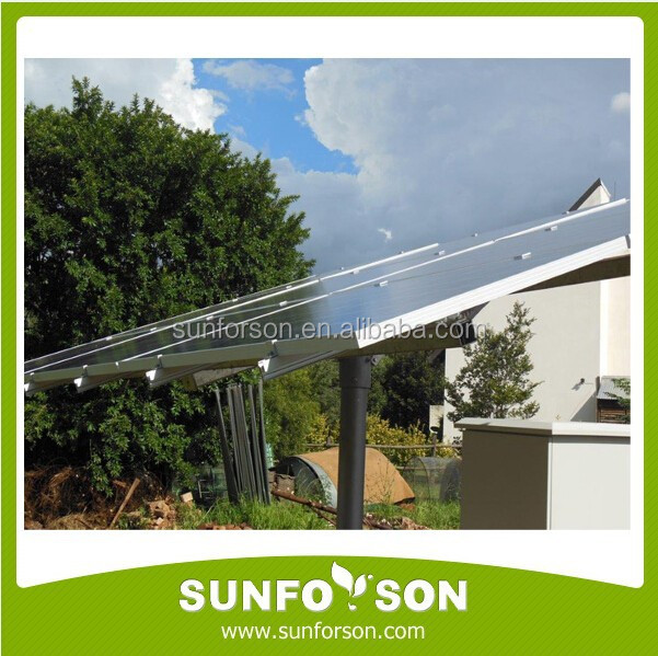 Single Pole Solar Panel Mounting System/PV Support Structures