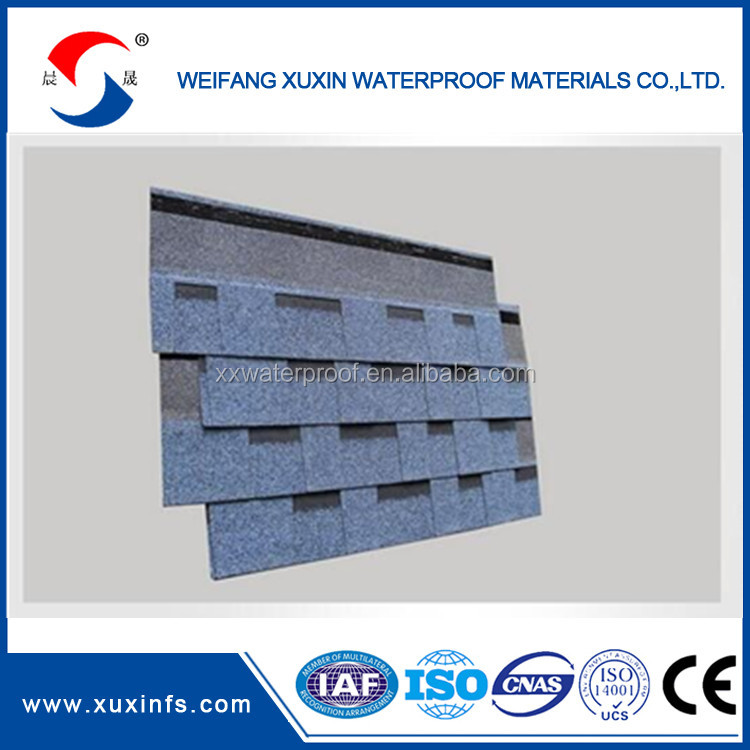 Asphalt shingle rubber roof material roofing waterproof types