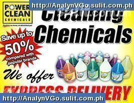 Cleaning Chemicals save up to 50%