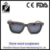 2016 most popular eco-friendly pure handmade custom bamboo wooden sunglasses from Nature's gift