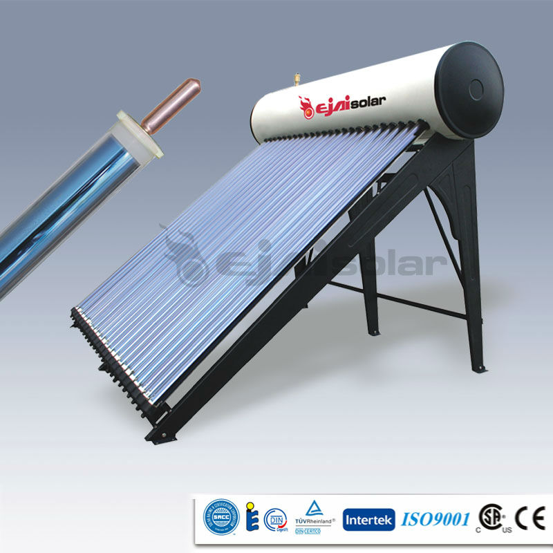 CE certificated Vacuum Tube Heat Pipe Solar Water Heater
