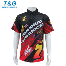New arrival men polyester racing wear