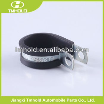 Stainless steel EPDM Rubber lined P-clip shape hose clamp tool