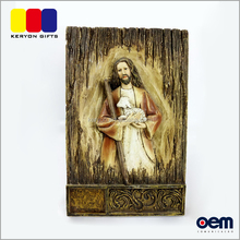 2017 New Design Jesus Table Decoration Resin Religious Statues