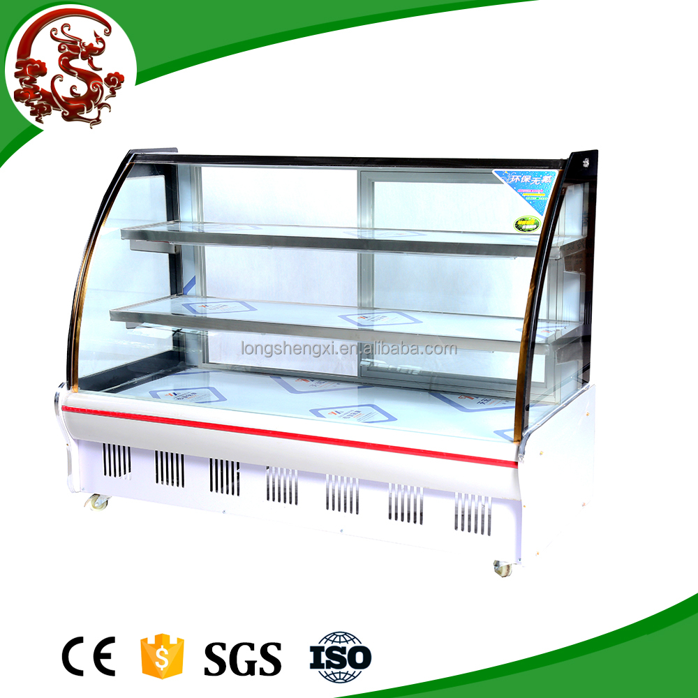 fruit and vegetable display freezer rack/display chiller/showcase