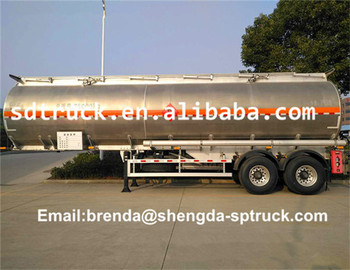 38000 Liters Aluminum Alloy Tanks Semitrailer and trucks