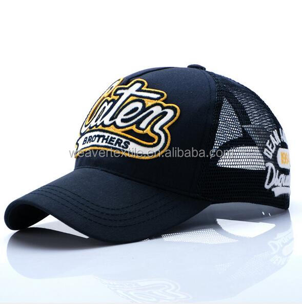 High Quality 3D Embroidery Mesh Cap Mesh Embroidery Cotton Curve Brim Trucker Cap and <strong>Hat</strong>