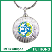 High Quality Basketball Player Zinc Alloy Keychains Gift for High School Student