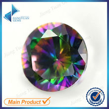 Best products for import color AB loose round 6mm cubic zirconia