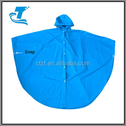 Hottest Kid's Bicycle Long PVC Rain Poncho