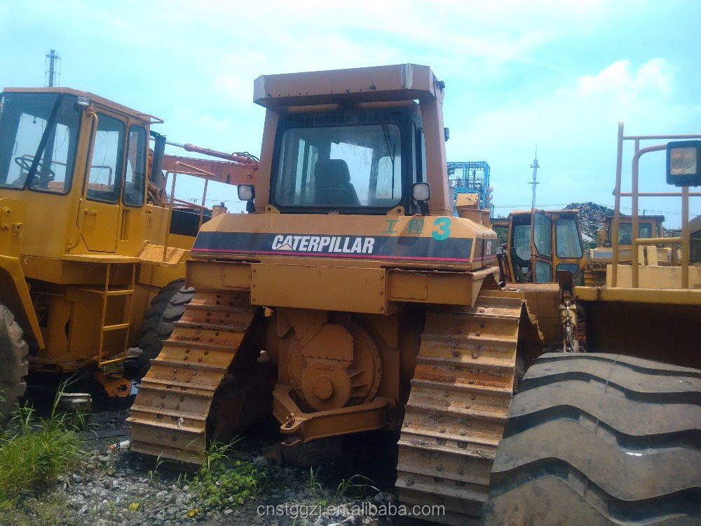 Cheap Sale Used Crawler Bulldozer/Dozer,Good-Condition D6R Original Crawler-Moving Bulldozer