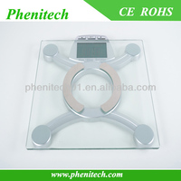 Digital body fat scale body composition monitor scale