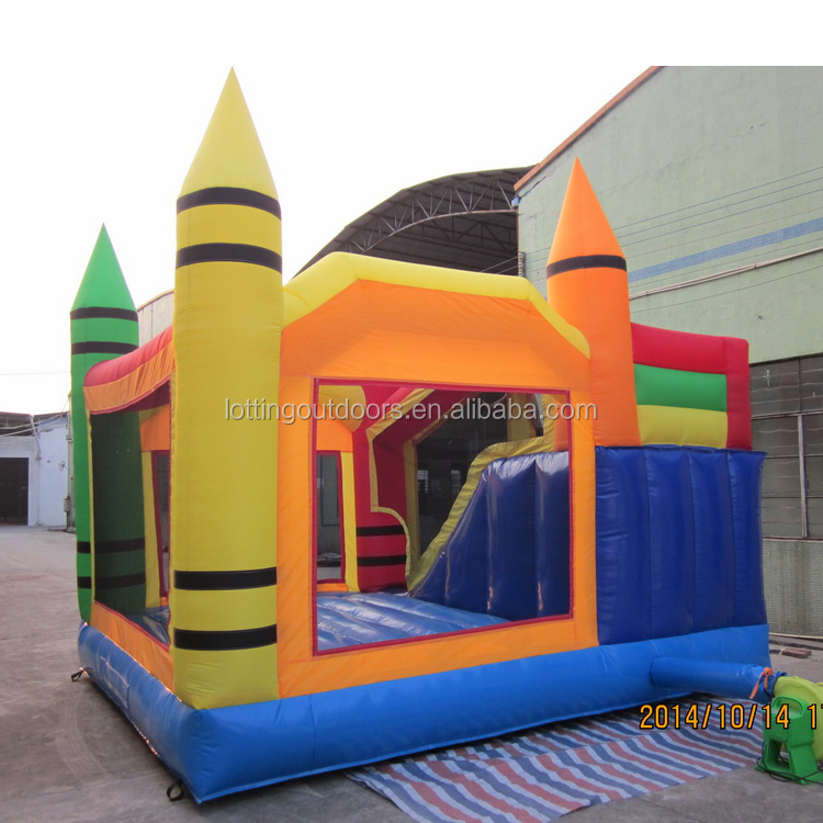 GUANGDONG blue L65235-1 inflatable water slide manufacturer