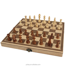 Factory Directly Wholesale International Wooden Chess Piece Wood Chess Set