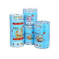 Color printed roll film for auto packing machine/food packing rollers with factory price