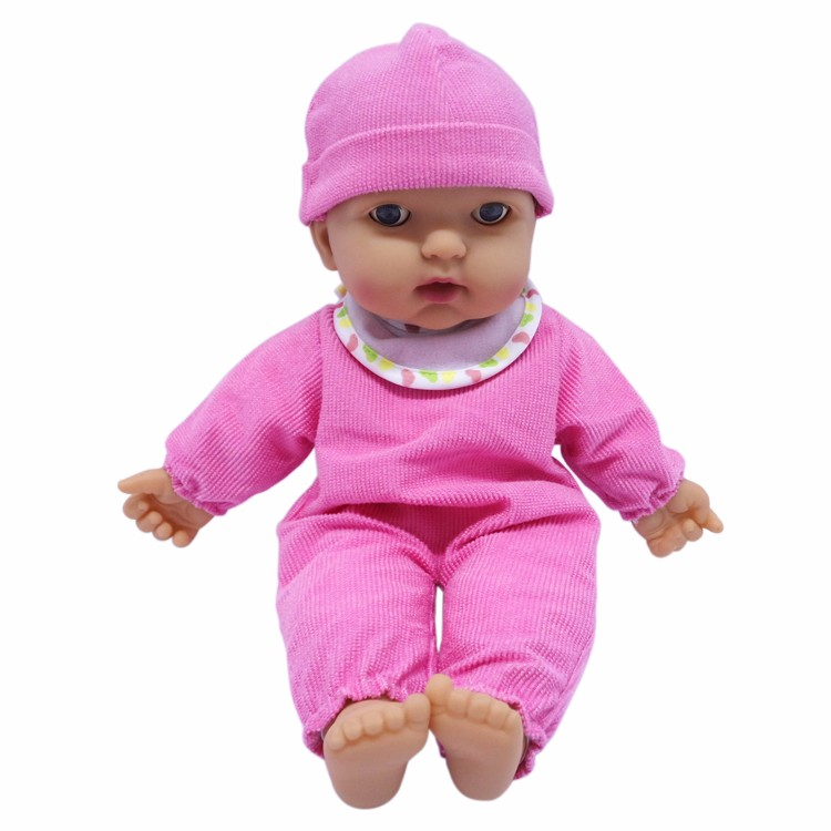 2015 New Toy Intelligent Kids Lovely Plastic Realistic Baby Alive Doll with Accessories