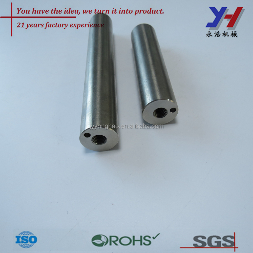 OEM custom cnc machining electric motors double shaft as your drawings
