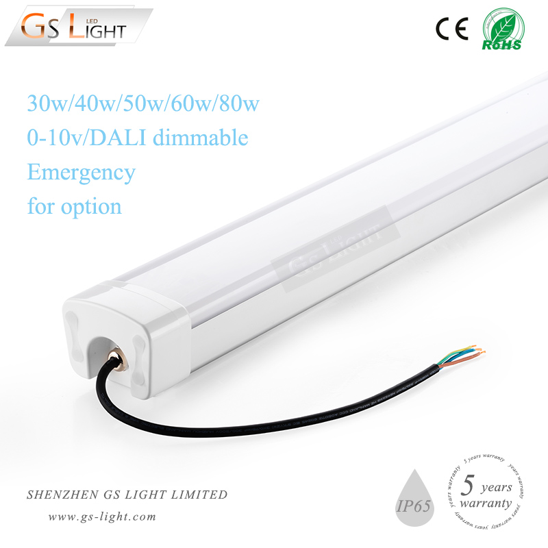 microwave sensor 30w led linear high bay for garage lighting