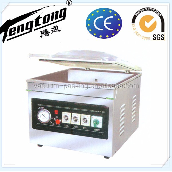 Beef steak table top vacuum sealing machine for supermarket