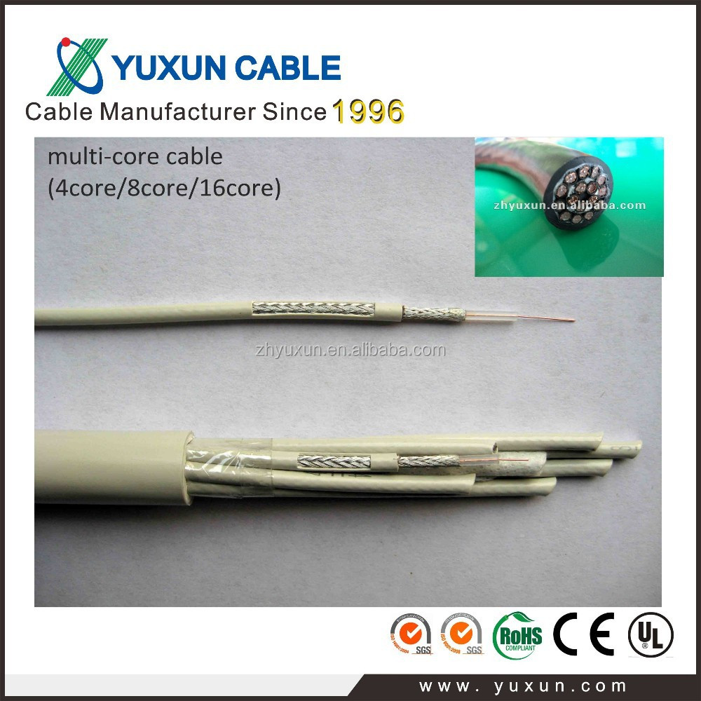 single/8 cores/16 cores Telecommunication BT3002 coaxial cable