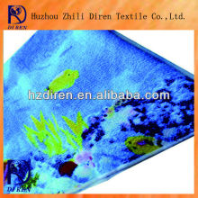 printed soft light extre absorbent microfiber bath towels wholesale