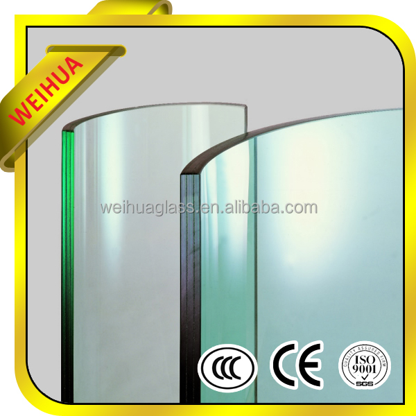 4mm-19mm Laminated Glass Door from manufacturer with CE/CCC/SGS/ISO