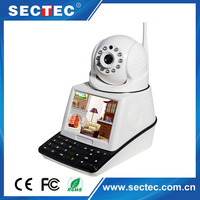 h.264 Home security dome cmos P2P network phone cheap ip wireless wifi ptz camera