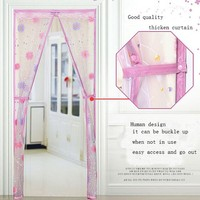 New Curtain Designs 2015 EVA plastic curtain Hands-Free Magic Mesh Screen Doors Magnetic Anti Mosquito Door Curtain home decor