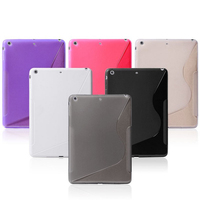 mobile phone S Line TPU cover case for Ipad5,TPU cover case