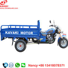 Guangzhou factory farming tricycle 1.2m*1.8m 200cc Electric Kick Start Petrol motorcycle Engine