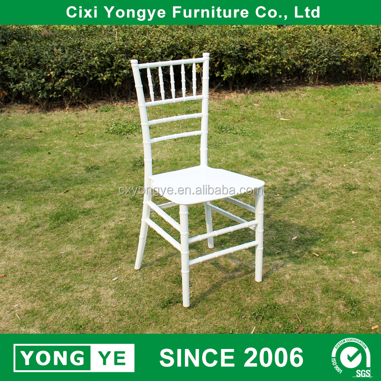 monobloc resin chiavari chair used banquet chairs for sale
