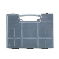 General opened plastic american made tool boxes
