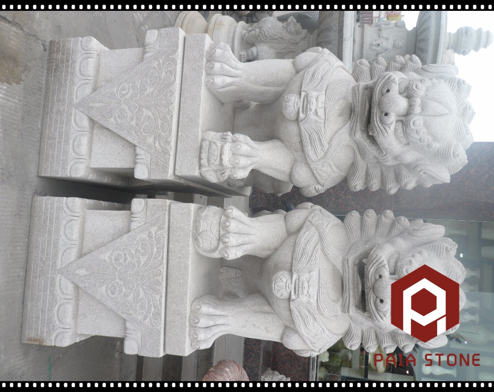 Animal Statue Statue Type and Statues Type lion head carving