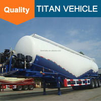 Cement tank semi trailer/ Cement silos truck for sale