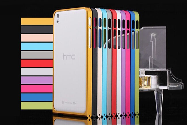 hot selling aluminum bumper case for htc desire 816