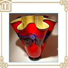 Handmade murano glass vases for wedding gift centerpieces