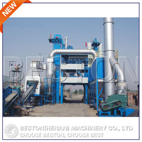 80T/H fixed roof shingle asphalt with asphalt plant burner