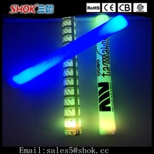 2015 Most Popular LED Foam Flashing Light Stick&Peel/Stick LED Light&LED Glow Foam Light Stick
