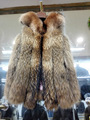 New Style New Arrival Women Real Raccoon Fur Vest Natural Raccoon Vest
