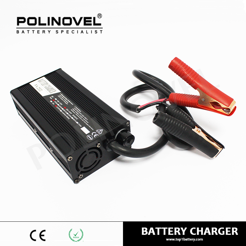 Factory customized lithium lipo fast 48 volt 72 volt rohs battery charger